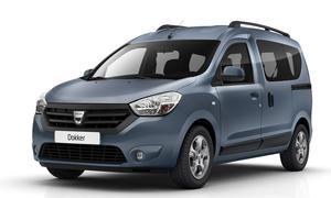 Neuer Dacia Dokker Auto Expo Casablanca 2012