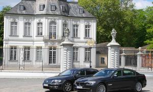 VW Phaeton V6 TDI 4Motion und BMW 730d