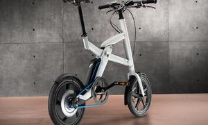 BMW i Pedelec Elektro-Fahrrad Klapprad i3 Innenraum Studie