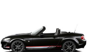 Mazda MX-5 Senshu schwarz Seite