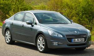 Peugeot 508 Hybrid4 Limousine Diesel-Hybrid Preis 38850 Euro 2012