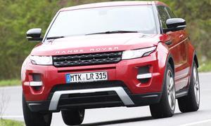 Range Rover Evoque Coupé eD4 2012 Front