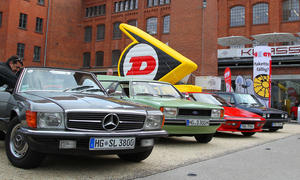 Youngtimer Classic 2012 Klassiker Ausfahrt Klassikstadt Frankfurt Tour Trophy