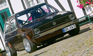 Der VW Golf I im Tuning-Look