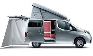 Nissan NV200 Stadtindianer 2012 Camping Van Caravan Salon Düsseldorf