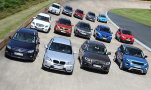 14 SUV im Mega-Vergleichstest – Teil 2: Mazda bis VW