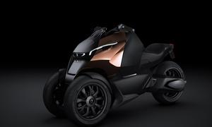 Bilder Peugeot Concept-Scooter Onyx Motorroller
