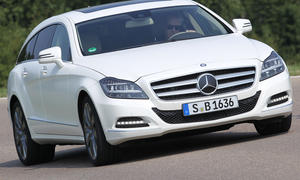 Bilder Mercedes CLS 350 CDI BlueEFFICIENCY Shooting Brake 2012