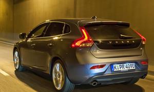 Bilder Volvo V40 T4 Vergleichstest 2012 V40-Heck