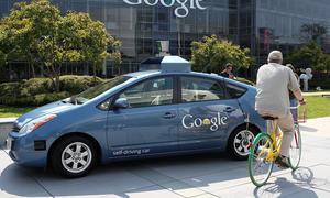 Google Kalifornien selbststeuernde Autos Science Fiction