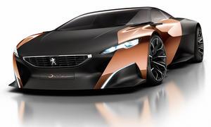 Peugeot Onyx Auto Salon Paris 2012 Diesel Hybrid Studie Sportwagen