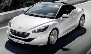Peugeot RCZ Facelift auf dem Auto Salon Paris 2012