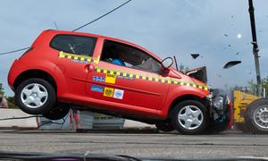 Crashtest: ADAC testete vier Kleinstwagen