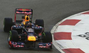 Sebastian Vettel gewinnt das Formel-1-Rennen in Singapur 2012