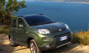 Fiat Panda 4x4 2012 Kleinwagen Fahraufnahme Front