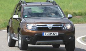 Dacia Duster SUV Vergleich 2012
