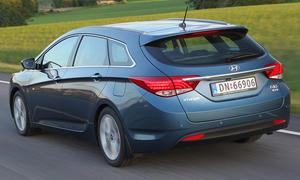 Hyundai i40 Fahrbericht Heckansicht