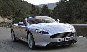 Aston Martin DB9 Volante 2012 Fahrbericht Bilder und technische Daten Karosserie