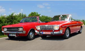 Classic Cars 6 2012 Opel Rekord Ford 20 M TS Taunus Cabrio