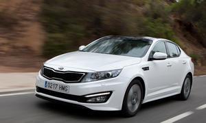 Fahrbericht Kia Optima Hybrid 2012 Mittelklasse