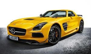 Mercedes SLS AMG Black Series 2013 LA Auto Show 2012