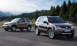Suzuki Grand Vitara 2013 Facelift Preis SUV