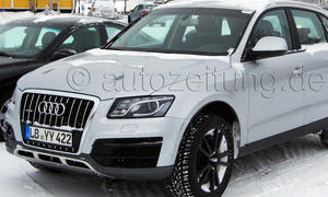 Audi SQ5 2013 Erlkoenig Benziner Q5 S Detroit