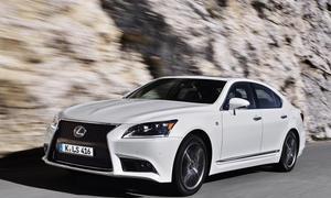 Bilder Lexus LS 600h F-Sport 2013 Luxus-Hybrid Fahrbericht
