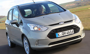 Vergleichstest Mini-Van Ford B-MAX 1.6 TDCi Turbodiesel Test Front