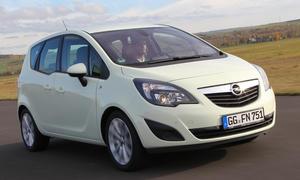 Opel Meriva 1.7 CDTI ecoFLEX Vergleich Vergleichstest Mini-Vans Turbodiesel