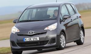 Vergleichstest Mini-Van Toyota Verso-S 1.4 D-4D Turbodiesel Vergleich Eckdaten