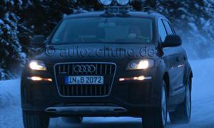 Audi Q7 2014 Test-Mule Erlkönig IAA 2013 Luxus-SUV
