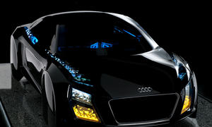 CES 2013 Las Vegas Audi Technologie OLED