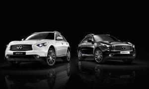 Infiniti FX Black and White Edition 2013 Sondermodell SUV Sondermodell