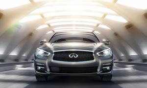 Infiniti Q50 Detroit Auto Show 2013 Sport-Limousine Premiere