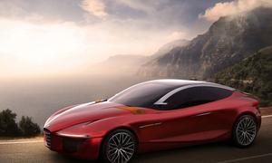 Alfa Romeo Gloria Concept Studie Genfer Autosalon 2013 Design-Studenten