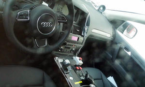 Audi Q7 2014 Erlkoenig Mule Innenraum IAA 2013