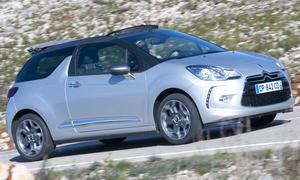 Bilder Citroen DS3 Cabrio THP 155 2013 Fahrbericht