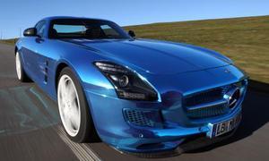 Bilder Mercedes SLS AMG Electric Drive 2013 Supersportler