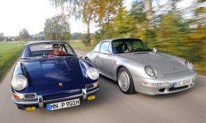 Classic Cars Porsche 901 911 Carrera Ausflug 2013 Ikonen