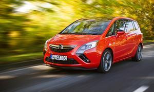 Fahrbericht Opel Zafira Tourer 2.0 Biturbo CDTI Familien-Van Front