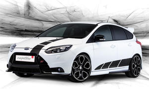 MS Design Ford Focus ST Competition Genfer Autosalon 2013 Aerokit