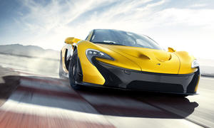 McLaren P1 Preis Fahrleistungen Genfer Autosalon 2013 Hybrid-Supersportler