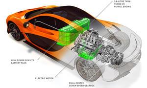 McLaren P1 Hybrid Supersportler Genfer Autosalon 2013 915 PS