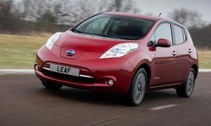 Nissan Leaf Facelift 2013 Elektroauto Kleinwagen Front