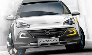 Opel Adam Rocks Cabrio Faltdach Offroad Genfer Autosalon 2013 Studie