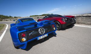 Pagani Zonda S Transformers Faszination Auto 2013 Vergleich Supersportler