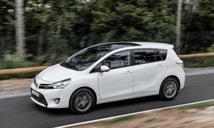 Toyota Verso 2013 Facelift Kompakt-Van Markteinführung
