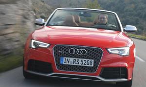 Bilder Audi RS 5 Cabriolet 2013 Sport Cabrio Einzeltest Test