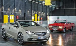 Bilder Opel Cascada 2013 Opel Rekord C Vergleich